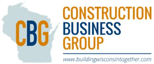 Sponsor - Construction Business Group